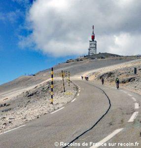 Cols et routes spectaculaires, le Mont Ventoux